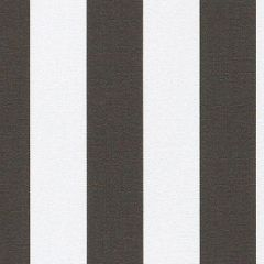 Sunbrella Yacht Stripe Charcoal YAC-3723 European Collection Upholstery Fabric