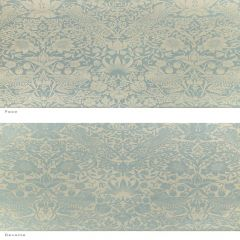 Perennials Strawberry Thief Blue Moon Morris and Co Collection Upholstery Fabric
