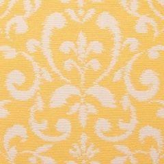 Patio Lane Damask Daffodil 28130 Beachside Collection Multipurpose Fabric