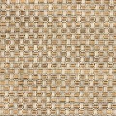 Phifertex Wicker Veranda Nutmeg EM9 Wicker Weave 54 inch Sling / Mesh Upholstery Fabric