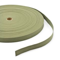 "Patio Lane Vat-Dyed Untreated Class 3 Cotton Webbing Type I 1"" Olive Drab Shade #7 (100 yards)"
