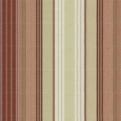 Tempotest Stripe Burg/Natural 5011/11 Awning Fabric