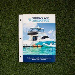 Strataglass / Crystalclear Sample Card  - Vinyl Swatches