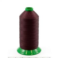 A&E Poly Nu Bond Twisted Non-Wick Polyester Thread Size 92 #4631 Burgundy