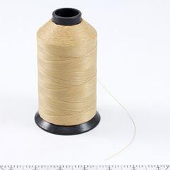 Aqua-Seal Polyester Thread Size 92+ / T110 Natural Tan 8-oz