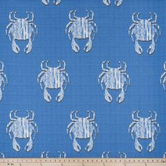 Premier Prints Avalon Admiral / Luxe Polyester Boardwalk Outdoor Collection Indoor-Outdoor Upholstery Fabric