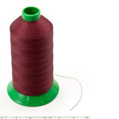 A&E Poly Nu Bond Twisted Non-Wick Polyester Thread Size 138 #4603 Red
