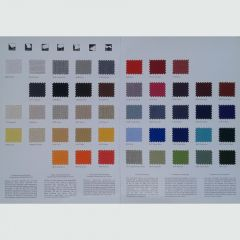 Dickson Orchestra Awning / Marine Fabric Sample Card - Fabric Swatches