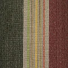 Tempotest Stripe Rust/Green/Multi 1150 Awning Fabric