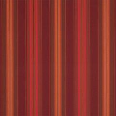 Sunbrella 4885-0000 Saxon Chili 46 in. Awning / Marine Stripe Fabric