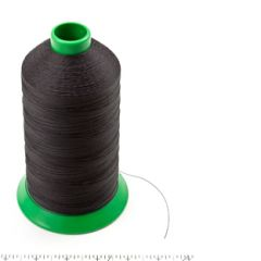 A&E Poly Nu Bond Twisted Non-Wick Polyester Thread Size 138 #4621 True Brown