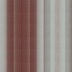 Tempotest Stripe Burg/Grey 5001/73 Awning Fabric