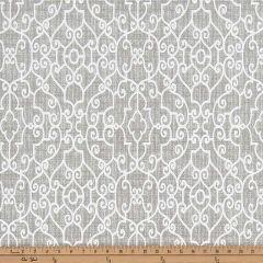 Premier Prints Ramey Light Grey Indoor-Outdoor Upholstery Fabric