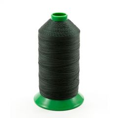 A&E Poly Nu Bond Twisted Non-Wick Polyester Thread Size 138 #4637 Forest Green