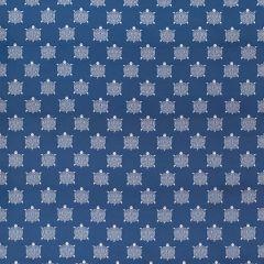 Sunbrella Thibaut Turtle Bay Marine Blue W80046 Portico Collection Upholstery Fabric