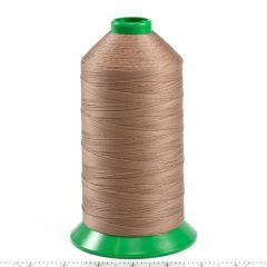 A&E Poly Nu Bond Twisted Non-Wick Polyester Thread Size 138 #4633 New Linen