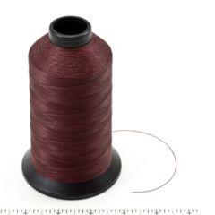 Coats Polymatic Bonded Monocord Dacron Thread Size 125 Burgundy 8-oz