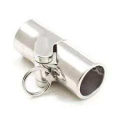 Patio Lane Locking Rail Hinge w Quick Release Pin 9027202 Stainless Steel Type 316 1 Inch OD Tubing