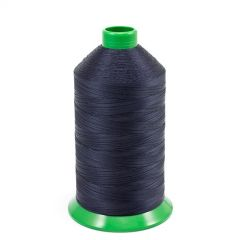 A&E Poly Nu Bond Twisted Non-Wick Polyester Thread Size 69 #4626 Navy Blue