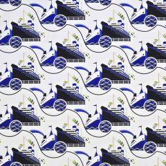 Ralph Lauren Villa Bleu Ocean LCF67729F The Grande Plage Outdoor Collection Upholstery Fabric