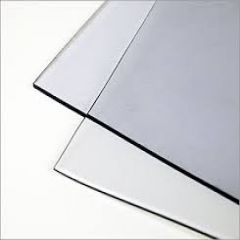 By the Sheet (1 sheet) Regalite Pressed Polished Clear Vinyl 30 gauge x 54 inches x 110 inches Clear